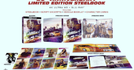 The Fast & The Furious 4K Ultra HD Zavvi Exklusives 20-jähriges Jubiläum Limited Collectors Edition Steelbook