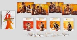 Indiana Jones 4K Steelbook Set Frankreich