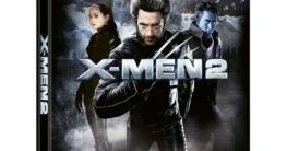 X-Men 2 - Zavvi Exclusive 4K Ultra HD Lenticular Steelbook Vorderseite mit Spine