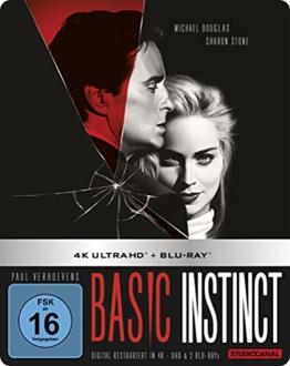 Basic Instinct / Limited Steelbook Edition (4K Ultra HD) (+ Blu-ray 2D)