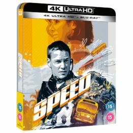 Speed - Zavvi Exklusives 4K Ultra HD Steelbook (inkl. Blu-ray)