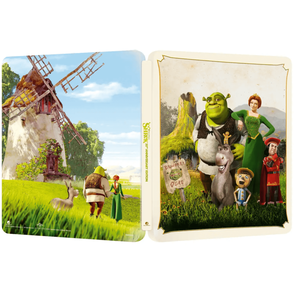 Shrek-Zavvi-Exclusive-20th-Anniversary-4K-Ultra-HD-Steelbook-Aussenseiten