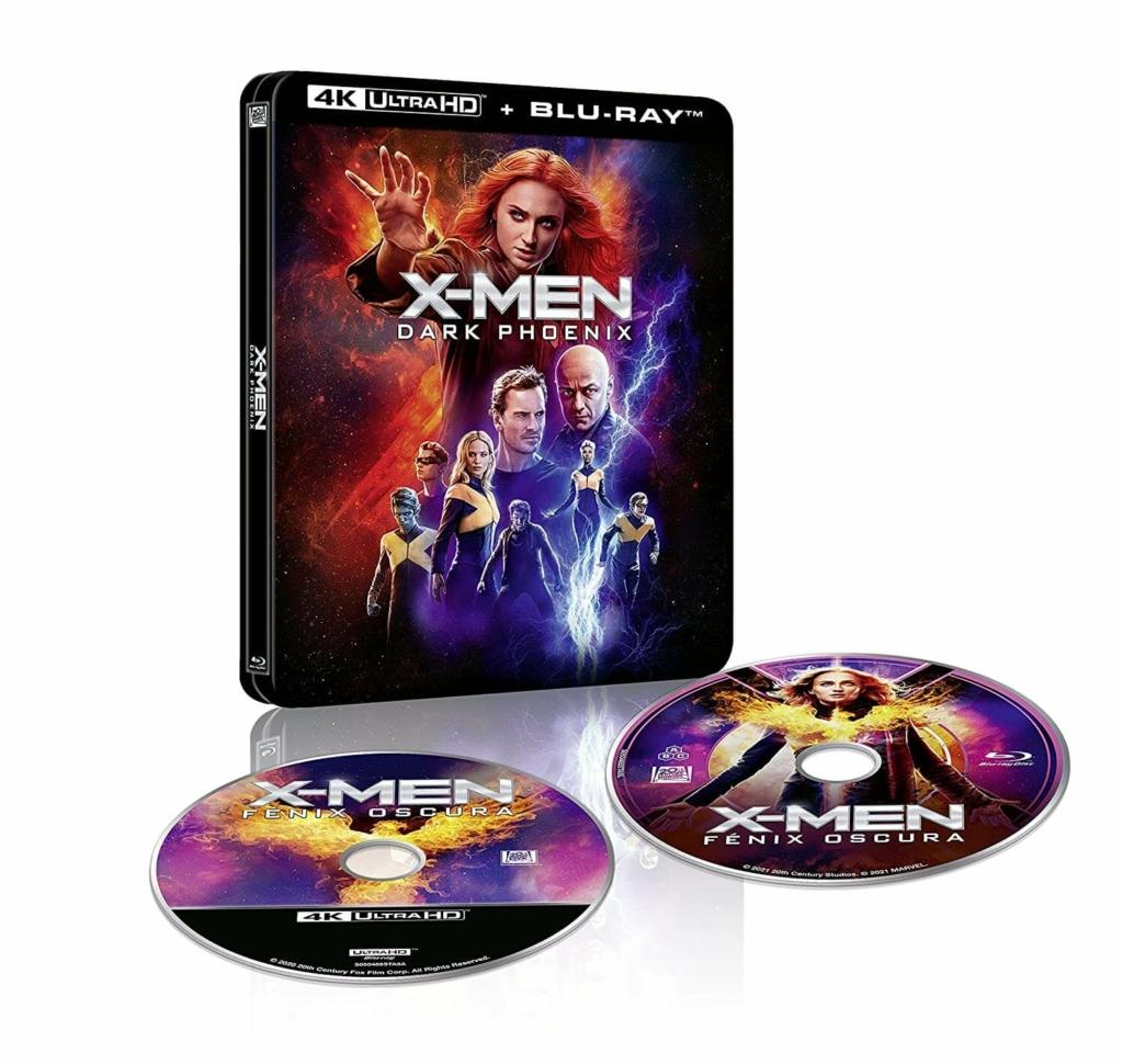 X-Men Dark Phoenix Lenticular 4K Steelbook