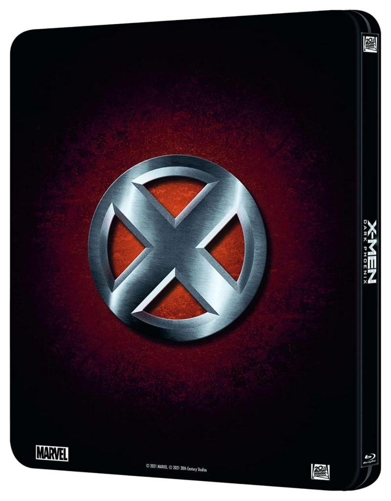 X-Men Dark Phoenix Lenticular Steelbook Rückseite