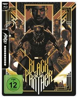 Black Panther - 4K UHD Mondo Steelbook Edition [Blu-ray]