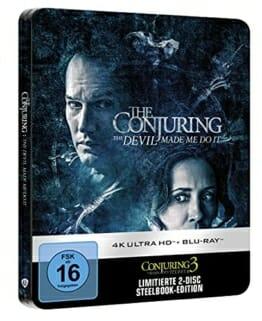 Conjuring 3: Im Bann des Teufels Limited Steelbook (4K UHD + BD)