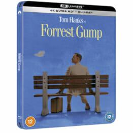 Forrest Gump - 4K Ultra HD Zavvi Exclusive Steelbook (Includes Blu-ray)