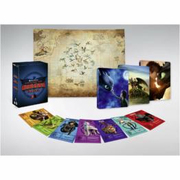 Drachenzähmen leicht gemacht Trilogie - Zavvi Exclusive 4K Ultra HD Steelbook Boxset