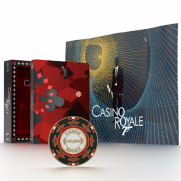 Casino Royale - Titans of Cult Limited Edition 4K Ultra HD Zavvi Steelbook