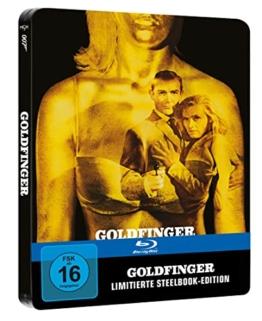 James Bond 007 - Goldfinger Limited Steelbook [Blu-ray]